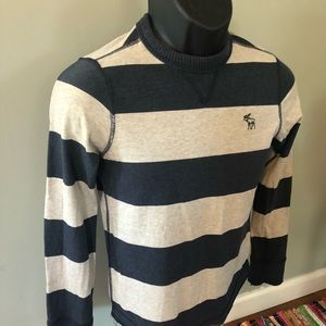 Abercrombie & Fitch Tops - Abercrombie Fitch Stripe Shirt Long Sleeve Logo